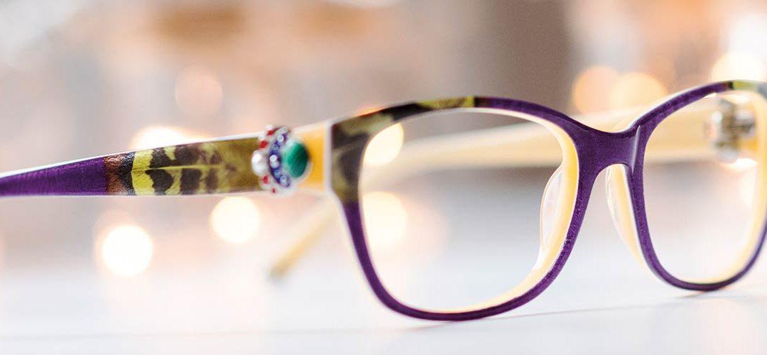 Produktion von Brillen